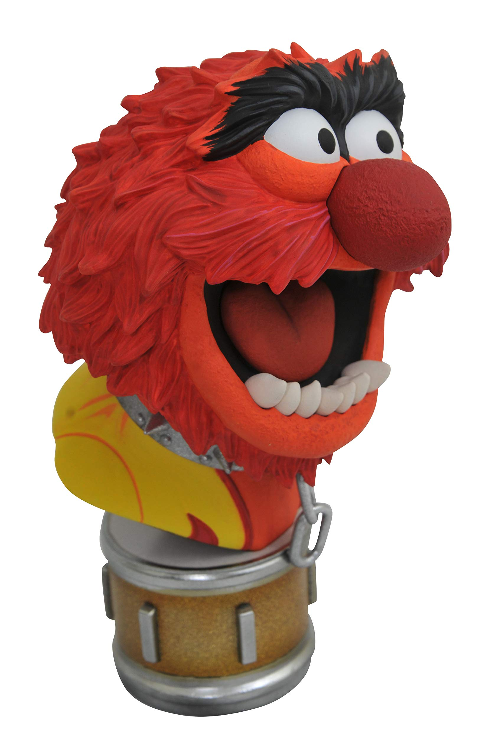 DIAMOND SELECT TOYS OCT182226 Select Toys Legends in 3-Dimensions: The Muppets Animal 1: 2 Scale Bust, Multicolor by DIAMOND SELECT TOYS (Image #4)