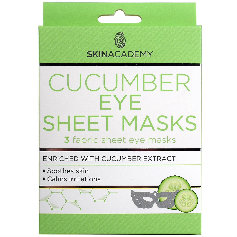 Pelle Academy Cucumber Eye Sheet Masks Quest