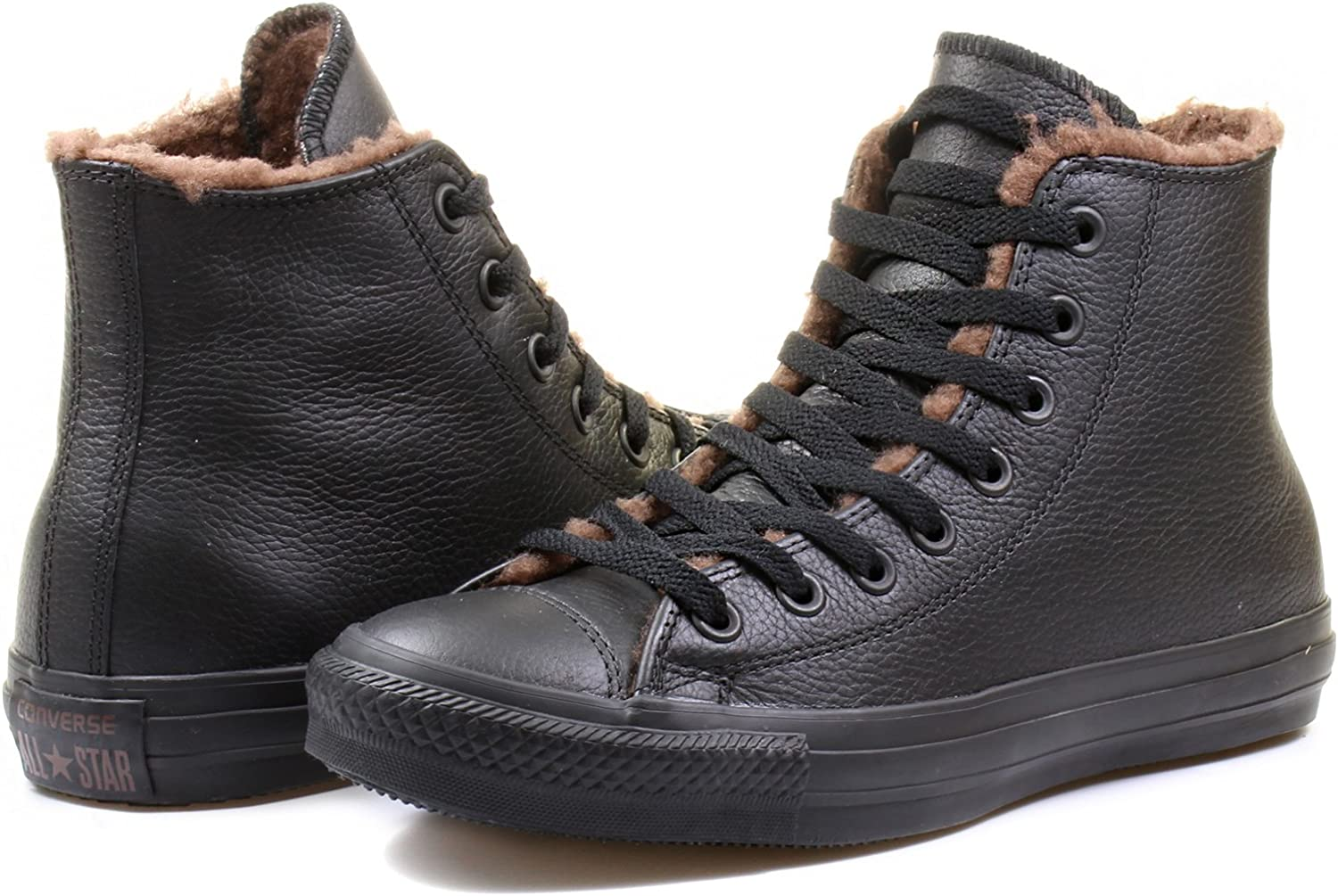 Converse Chuck Taylor Leather Fur Lined