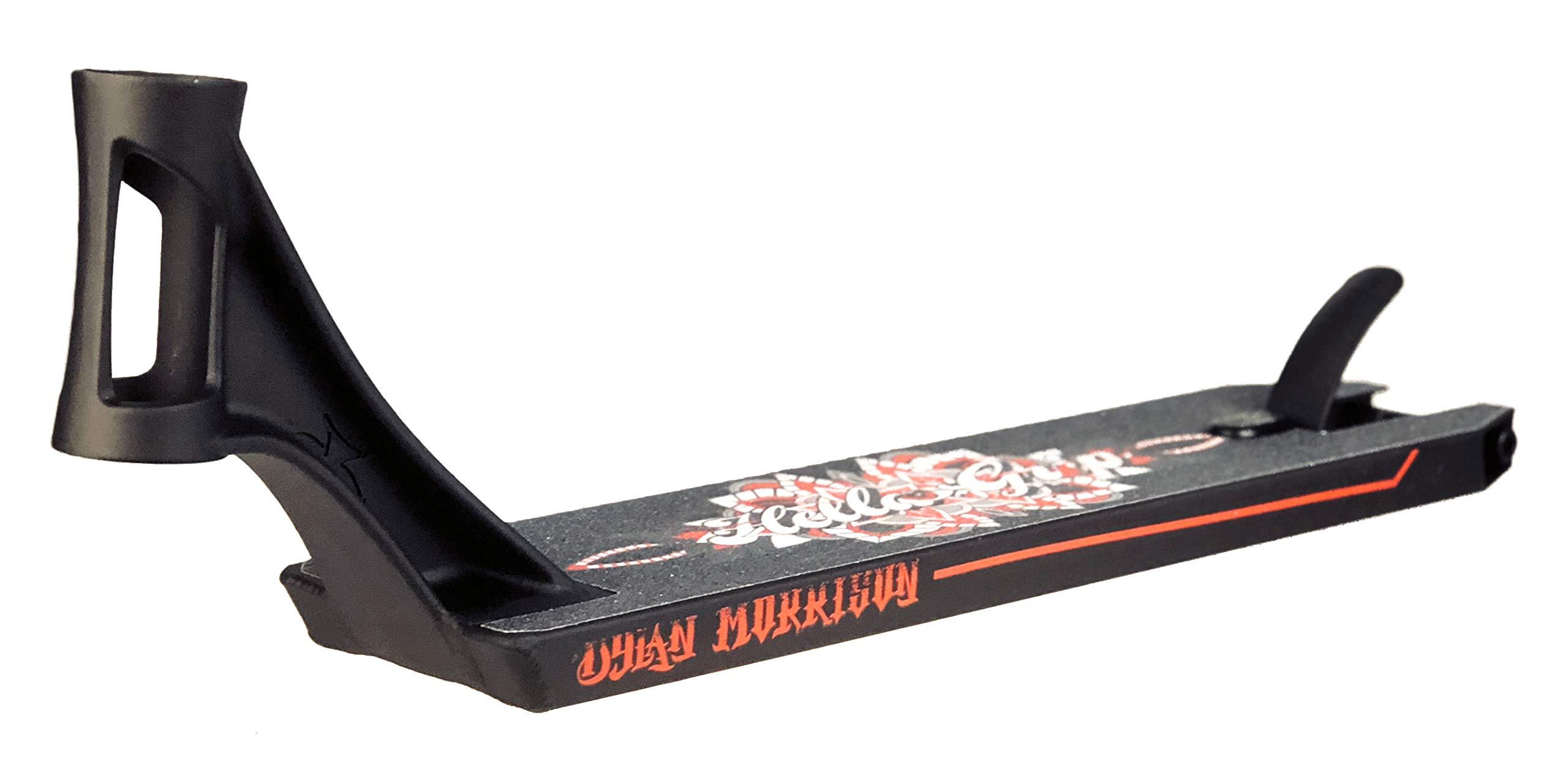 AO Dylan Morrison Signature Scooter Deck Black 19.5