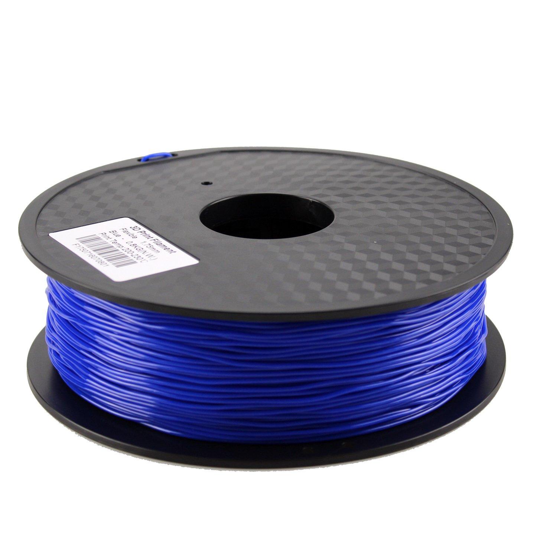 HICTOP 0.8KG 1.75mm Flexible azul TPU (caucho) Filamento para la ...