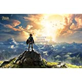 "CGC Huge Poster - The Legend of Zelda Breath of the Wild Nintendo Switch Wii U - EXT693 (24"" x 36"" (61cm x 91.5cm))"