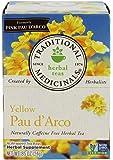Traditional Medicinals Teas Pau d'Arco Herbal Tea, 16 Wrapped Tea Bags