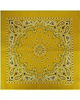 Bandana / Bandanas mit exclusivem Paisley Muster in reiner Baumwolle