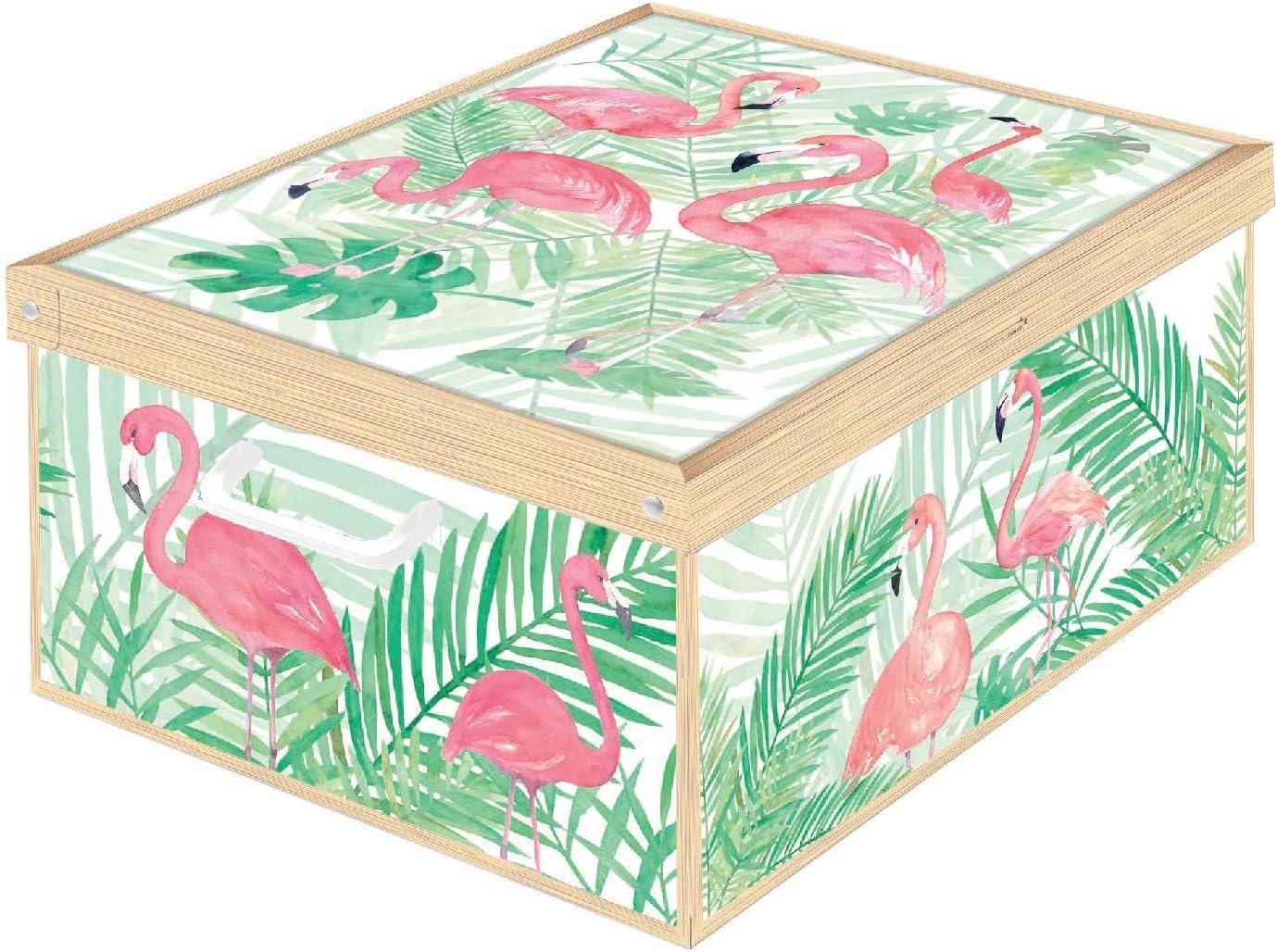 Kanguru Flamants Roses Caja de Almacenamiento en cartòn Lavatelli ...