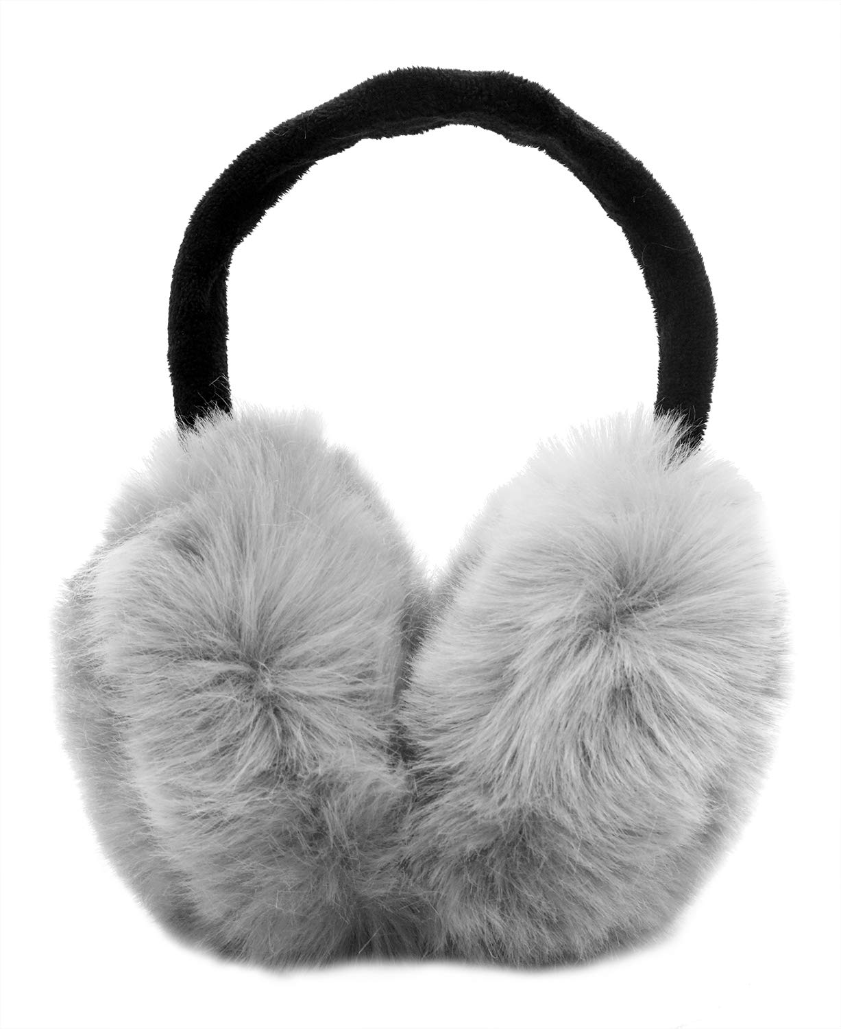 Womens Headband Winter Faux Fur Outdoor EarMuffs Warmers Adjustable Earwarmer ZLM00003148