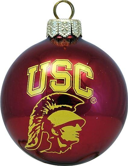 USC Tommy Trojan Red Ball Polish Glass Christmas Tree Ornament Decoration  New - Amazon.com: USC Tommy Trojan Red Ball Polish Glass Christmas Tree