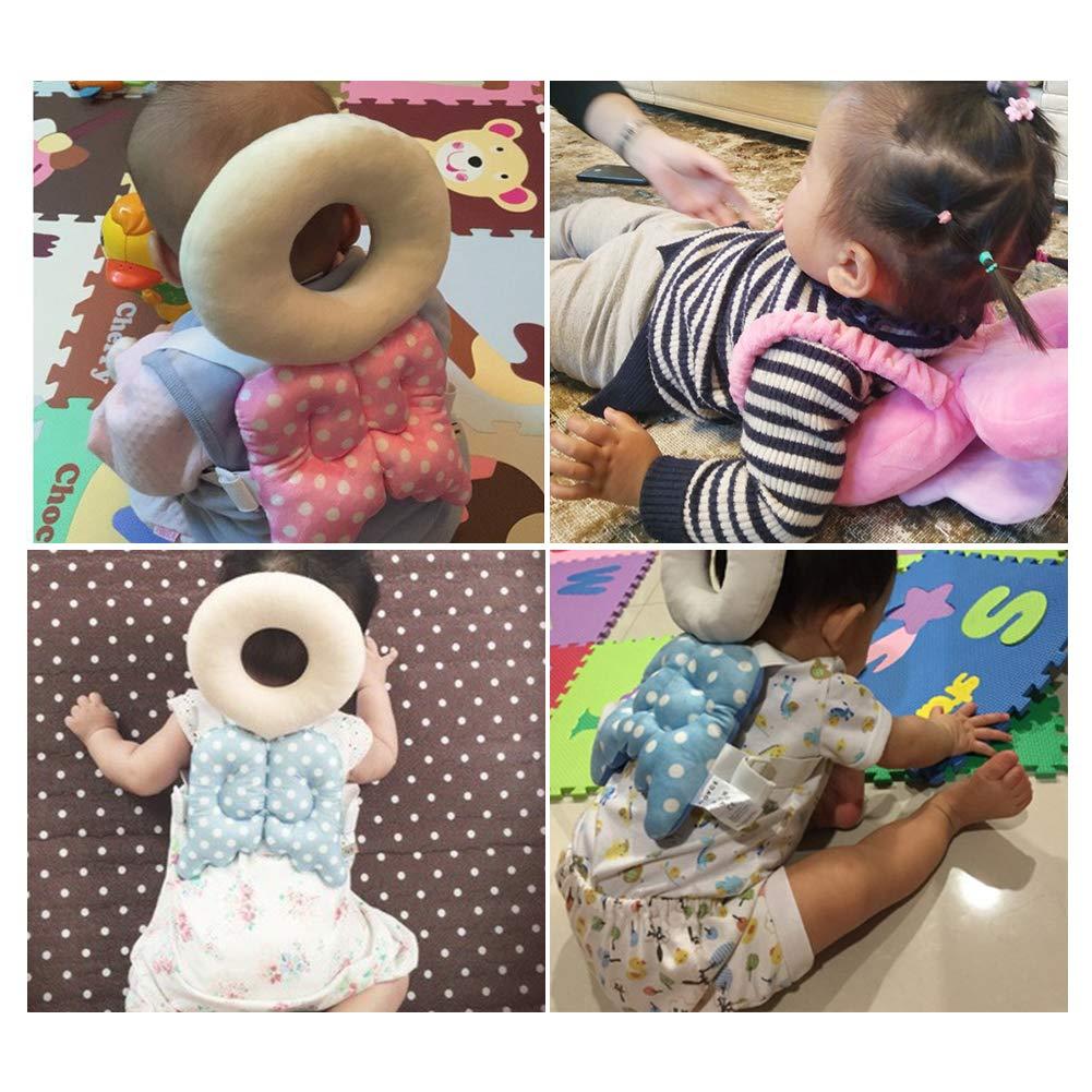 Baby Kleinkinder Kopfschutz Einstellbare Infant Cute Wings Fallschutz Sicherheit Pad Baby Kissen f/ür Lauflernhilfen F/ür Schulterschutz