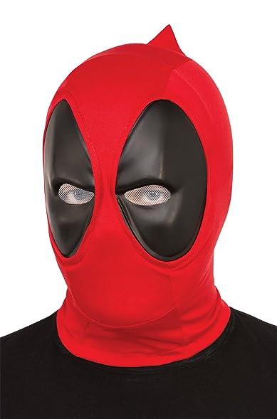 Amazon.com: UHC Men's Marvel Superhero Deadpool Mask Theme Party ...