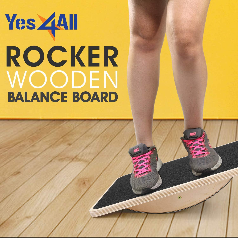 Amazon.com: Yes4All balancín profesional de madera balancín ...