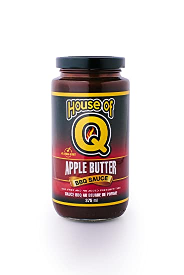 Salsa BBQ House of Q Apple Butter (Mantequilla de Manzana) - 340g