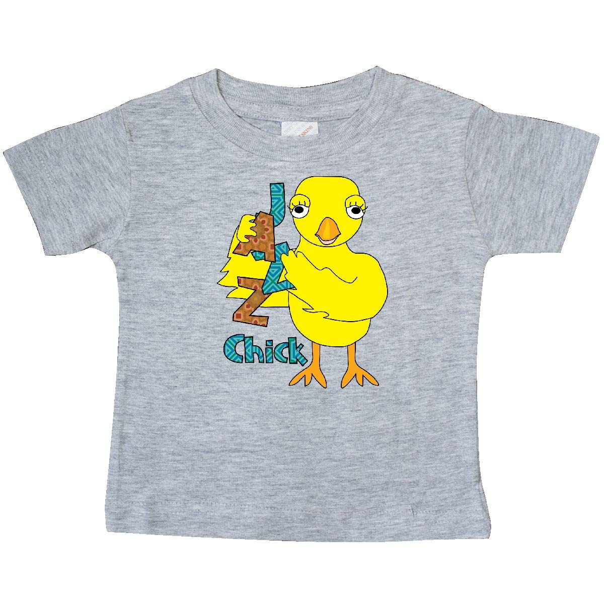 inktastic Jazz Chick Patterned Text Baby T-Shirt