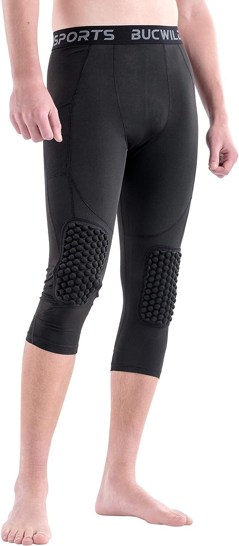 Amazon.com: Bucwild Sports - Pantalones de compresión con ...