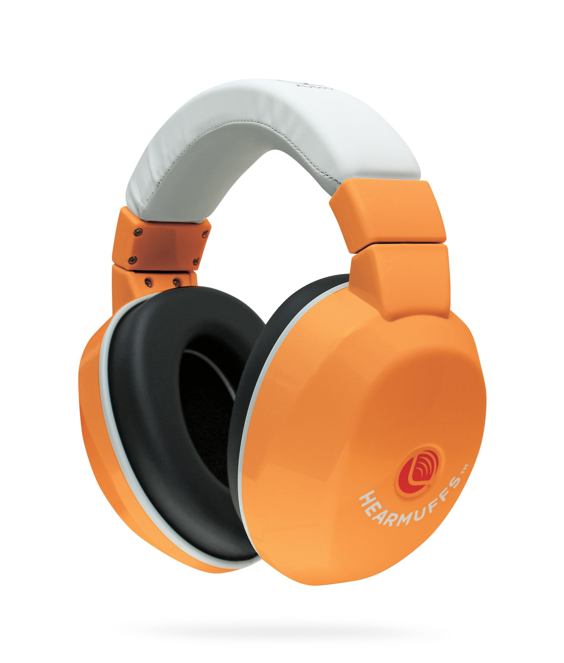 Lucid Audio Kids HearMuffs (Orange), One Size