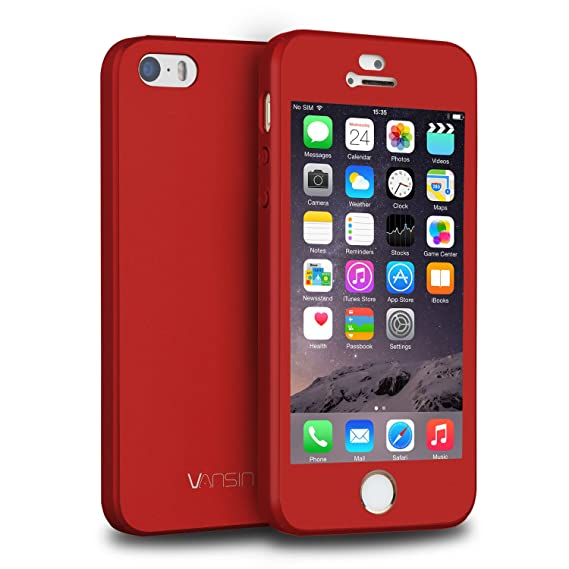 amazon com iphone 5s case, iphone 5 case, iphone se case, vansiniphone 5s case, iphone 5 case, iphone se case, vansin 360 full body