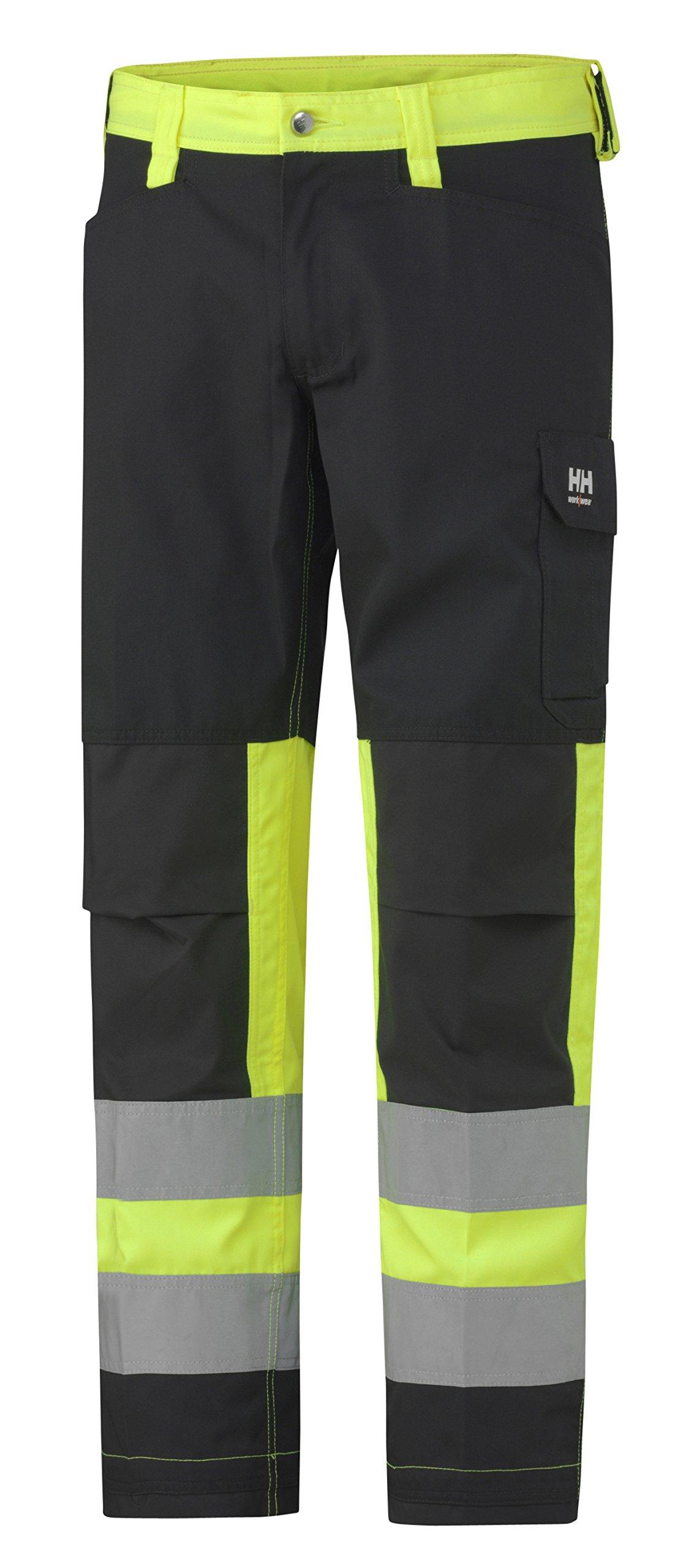 76492_369-C48 Hi-Vis Pants''Alta'' Class 1 Size In C48, Yellow/Charcoal