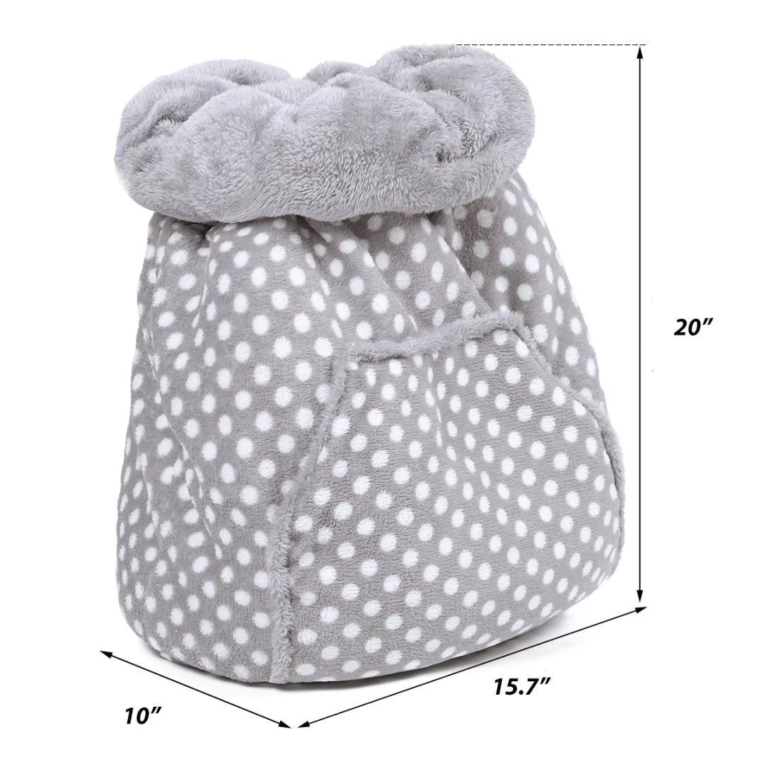 Ohana Cat Bed Puppy Kitten Sleep Sack,Small Dog Bumper Bed Ultra Soft Magic Sleeping Bag