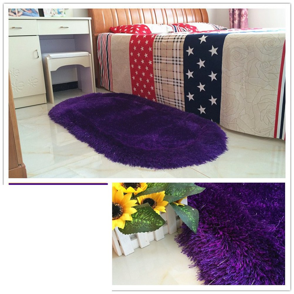 Bed bed blanket Cute children's room rugs Bedroom wall-to-wall carpet-J 70x140cm(28x55inch)