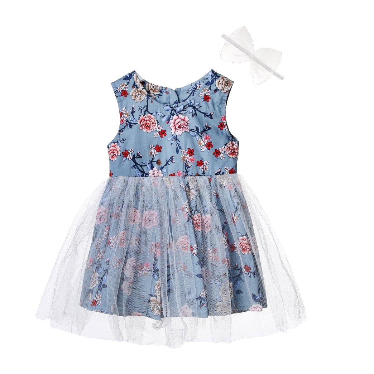 超爆安  Wiwiane DRESS 2-3 ベビーガールズ 2-3 Years DRESS ブルー Wiwiane B07CNQ36B1, kiji store:b647010f --- a0267596.xsph.ru