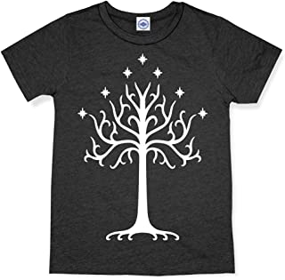 product image for Hank Player U.S.A. White Tree of Gondor Men's T-Shirt