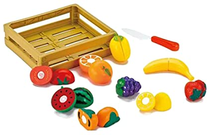 Buy Webby Cutting Fruit And Vegetable Play Miniature Kids Toy Online