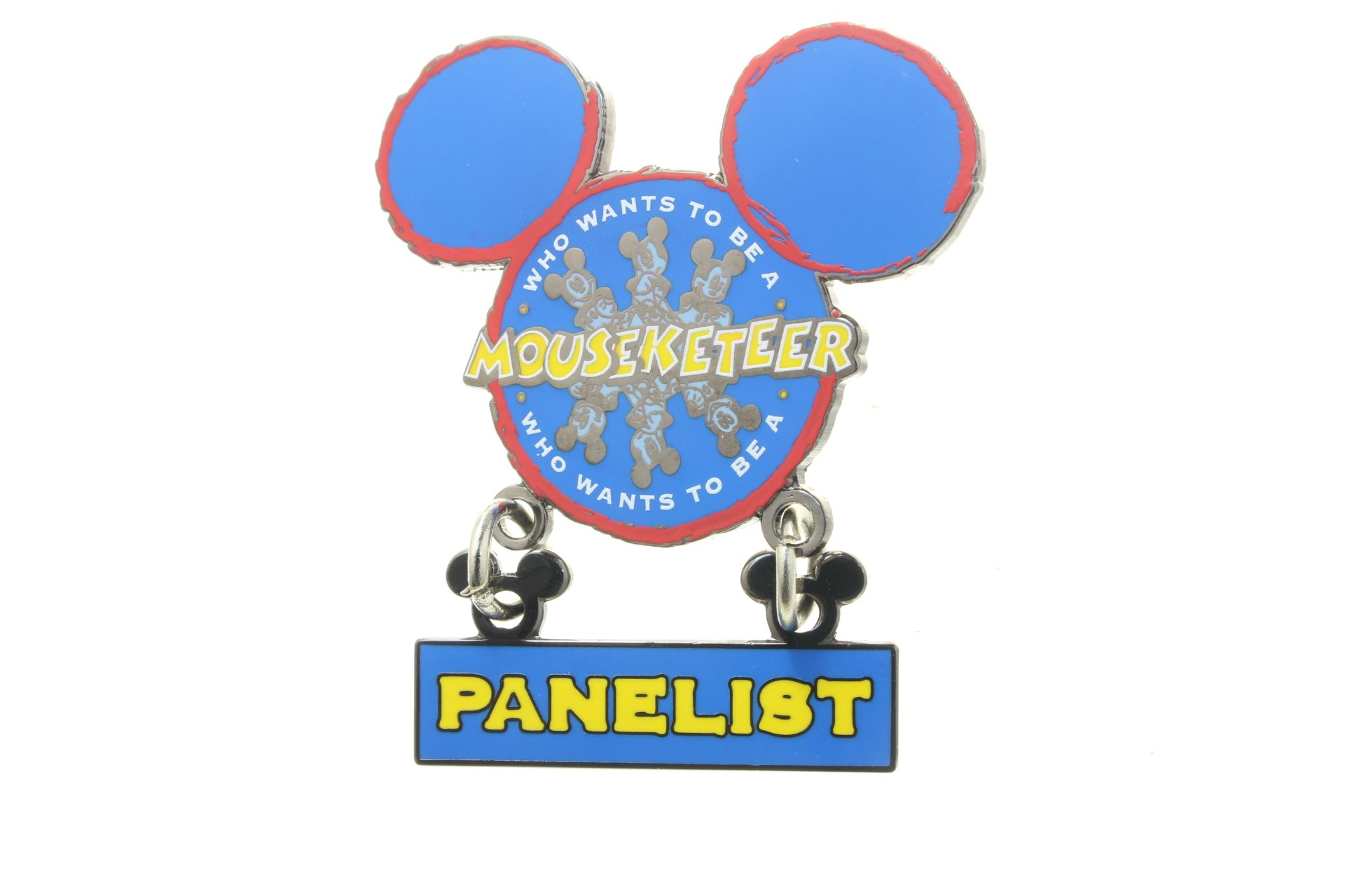 Disney Cruise Line Who Wants to Be a Mouseketeer Panelist (Dangle) Pin