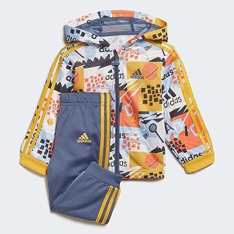 adidas I Shiny FZ HD J Chándal, Unisex niños: Amazon.es: Deportes ...