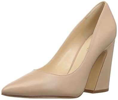 ec9a888750f Nine West Women s HENRA Pump Light Natural Leather 7 ...