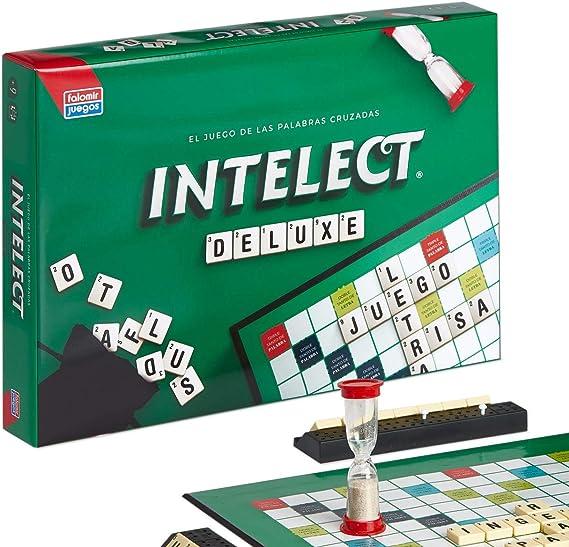 Falomir- Intelec Intelect de Luxe. Juego de mesa. Family & Friends. (32-4002): Amazon.es: Juguetes y juegos