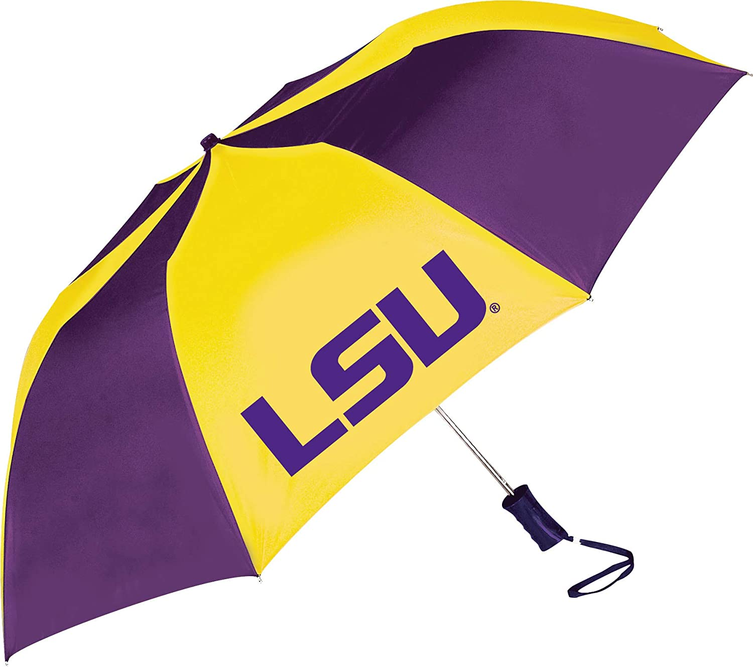 Storm Duds LSU Tigers Sporty Two Tone Umbrella
