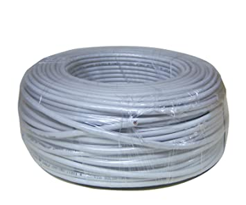 Ethernet Cable Rollo Red LAN UTP CAT5e 100 m gris