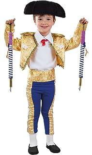 DISBACANAL Disfraz de torero para niño - Único, 4 años ...