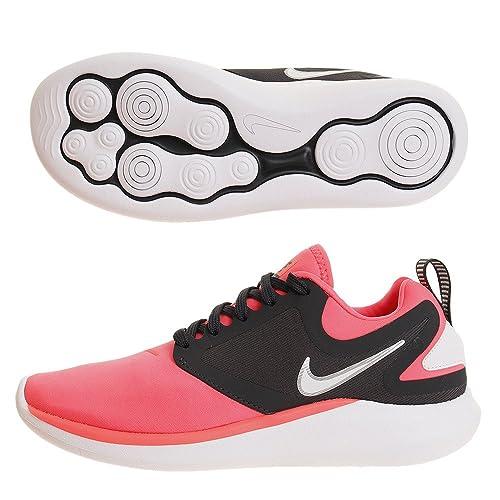 reputable site 2c5da bbc98 Nike Wmns Lunarsolo, Scarpe da Fitness Donna, Multicolore (Hot Punch/White-