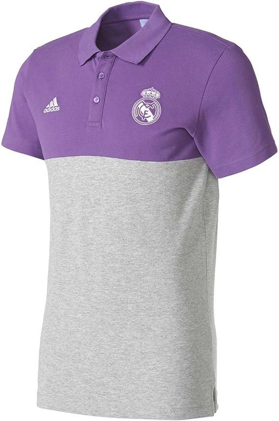 adidas SSP Polo Línea Real Madrid CF, Hombre: Amazon.es: Ropa y ...