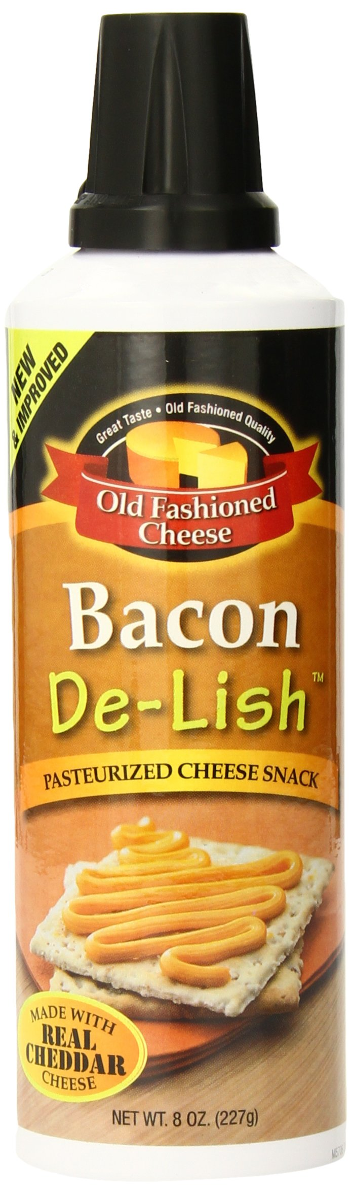 Old Fashioned Cheese Bacon De Lish Cheese Spread, 8 Ounce by Old Fashioned Cheese