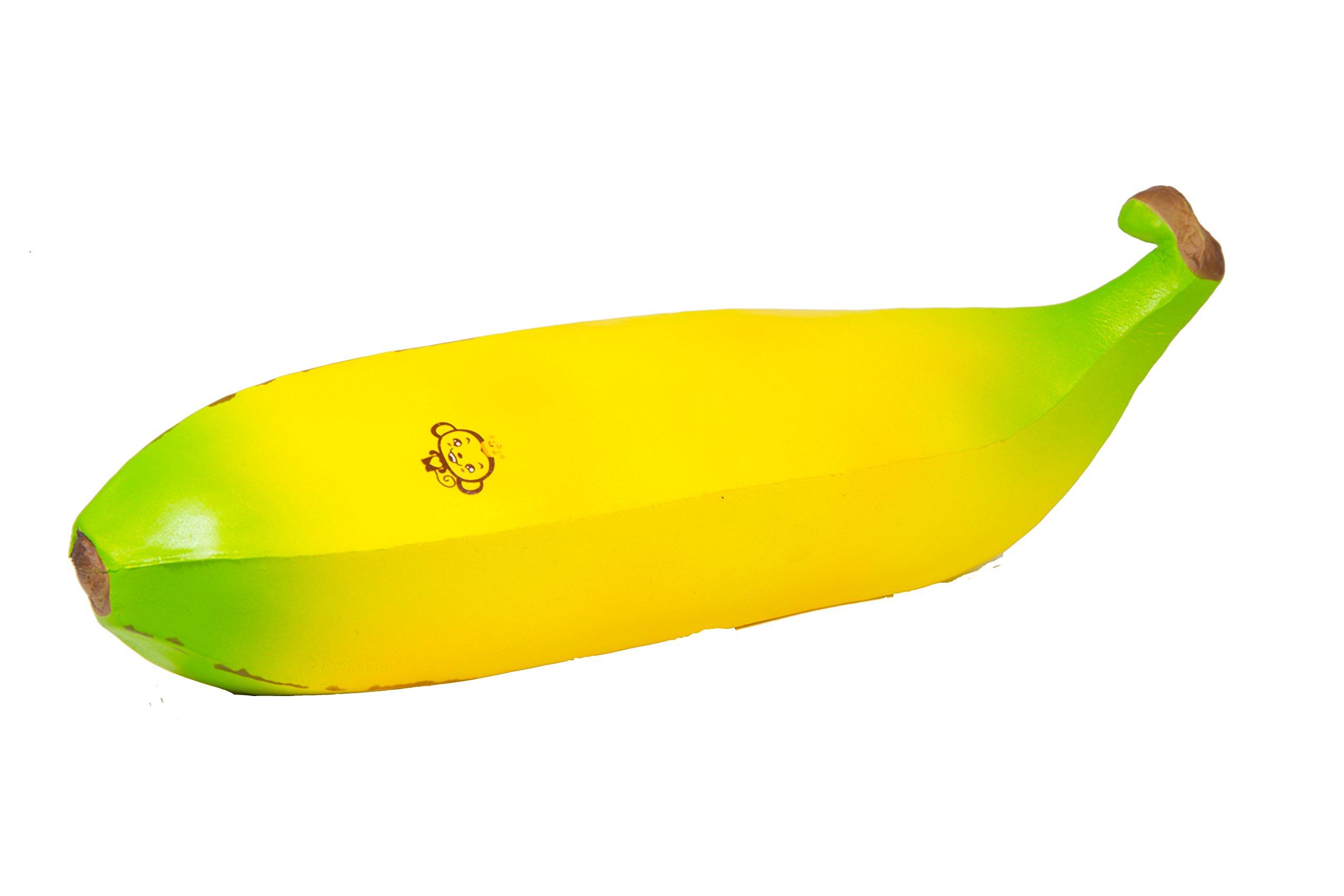Puni Maru Cheeki's Super Jumbo Banana Squishy Big Yellow Banana by Puni Maru (Image #1)
