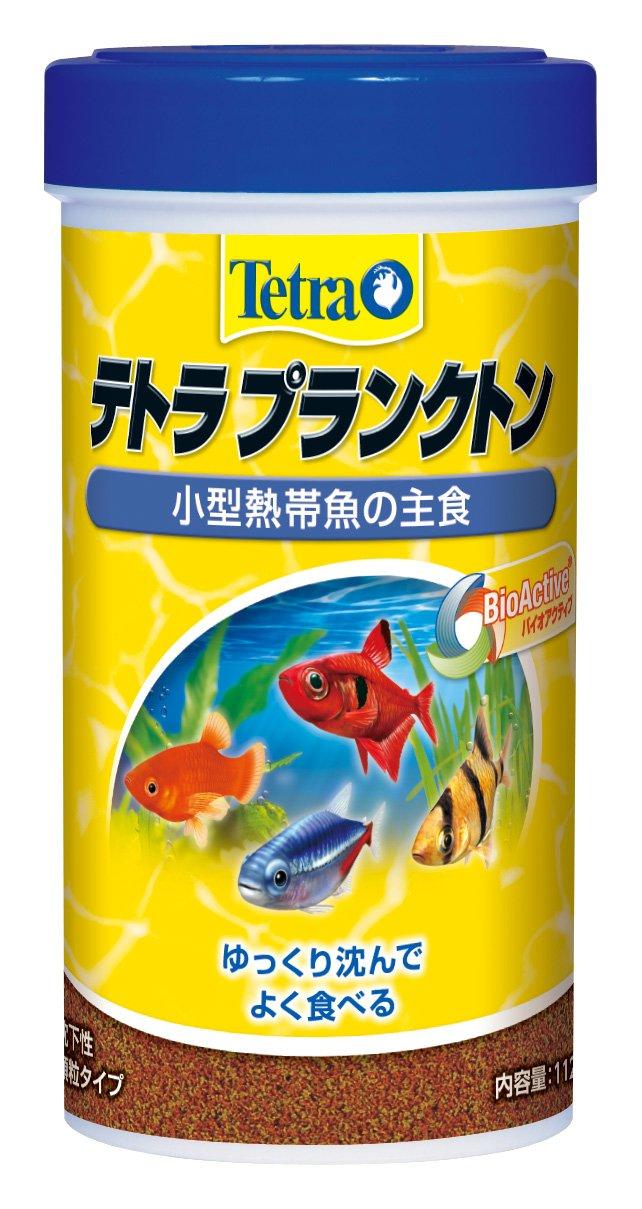 テトラ(Tetra) テトラプランクトン 小型熱帯魚の主食 粒状 112g
