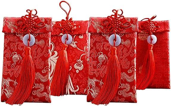 Money Gift Amount Christmas 2020 Amazon.: STOBOK 4Pcs Chinese Red Envelopes Lucky Money Gift
