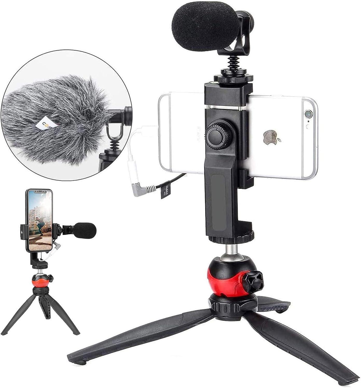 Moman Kamera Mikrofon Richtmikrofon Shotgun DSLR Externes Microphone Mic Kondensator f/ür Videos mit Windschutz Sto/ßd/ämpferhalterung f/ür Canon Sony Nikon Panasonic Camcorder Smartphone PC Laptop MA1
