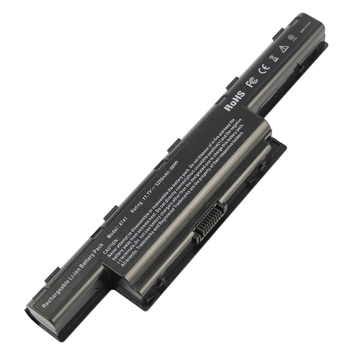 AC Doctor INC Laptop Battery for Acer AS10D31 AS10D51 Aspire 5253 5251 5336 5349 5551 5552 5560 5733 5733Z TravelMate 5740 5735 5735Z 5740G Gateway NV55C NV50A NV53A NV59C