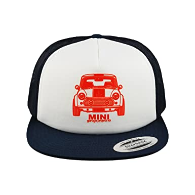 Image Unavailable. Image not available for. Color  GarageProject101 Classic  Mini Front Baseball Mesh Cap Snapback Trucker Hat 72a39b825152