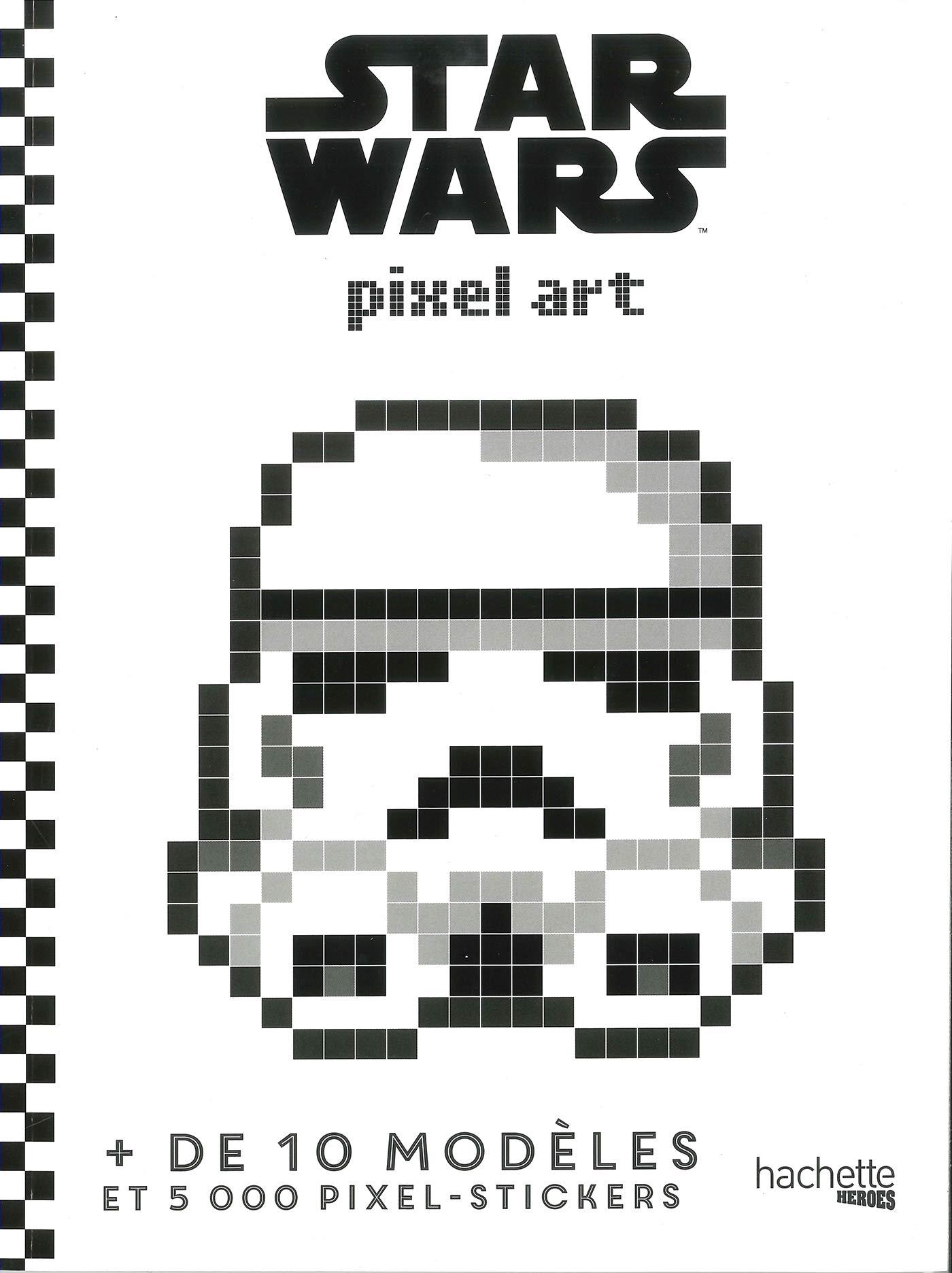 Star Wars Pixel Art Amazonfr Jérémy Mariez Livres