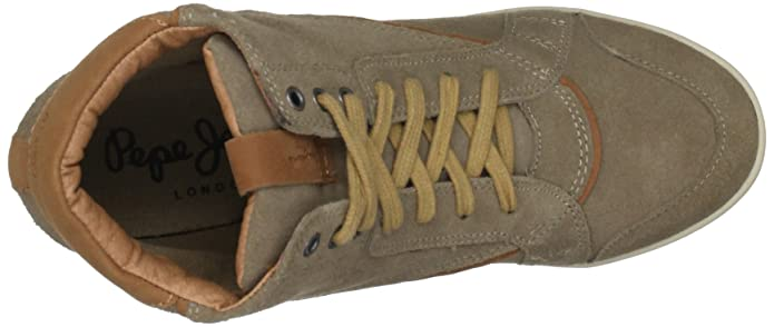 Jeans AnkleBottes Taupe femmeChaussures Pepe Russel TwOlPkZuXi