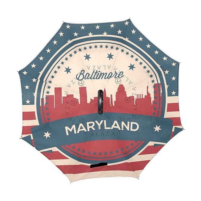 Amazon.com: Vintage American bandera del estado de Maryland ...