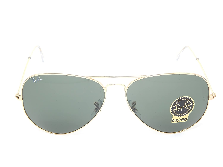 8d8dc771e70 Amazon.com  New Ray Ban Aviator RB3026 L2846 Arista G-15 XLT Lens 62mm  Sunglasses  Shoes