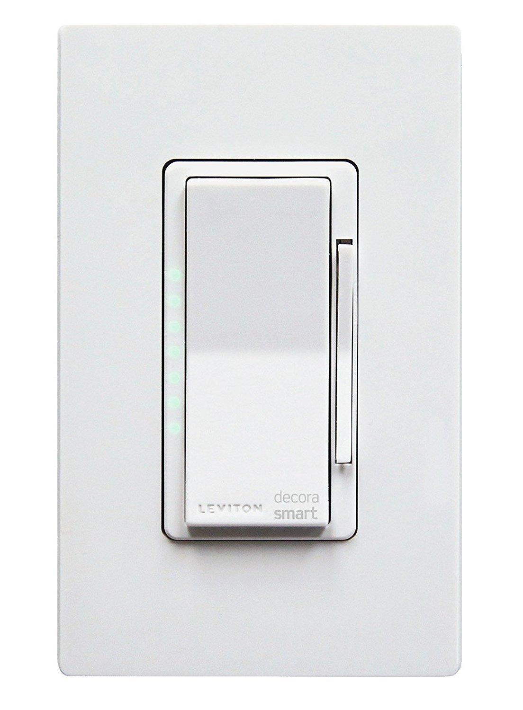 Leviton DH6HD-1BZ 600W Decora Smart Dimmer, Works with Apple HomeKit - -  Amazon.com