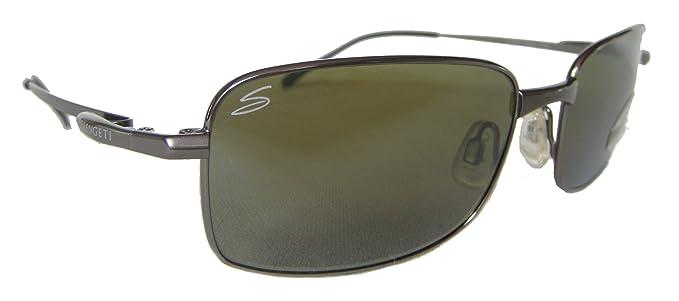 Serengeti - Gafas de sol - para hombre verde verde: Amazon ...