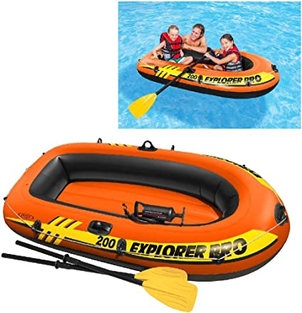 Intex 58357NP - Barca hinchable Explorer Pro 200 con remos e ...