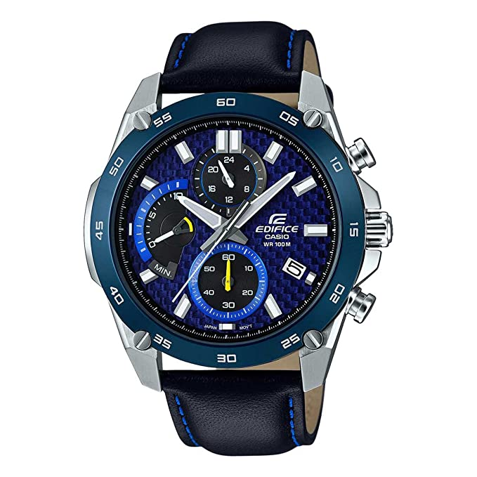 41bf6464d95 Buy Casio Edifice Analog Blue Dial Men s Watch - ED470 (EFR-557BL-2AVUDF)  Online at Low Prices in India - Amazon.in