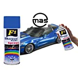 F1 Aerosol Spray Paint Blue For Multipurpose For Car,Bike,Cycle (240g.Blue)